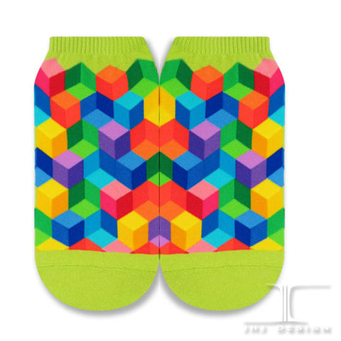 Geometric Rainbows Ankles -  Spectrum Blocks