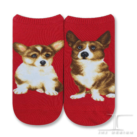 Dogs Ankles - Welsh Corgi Men Size