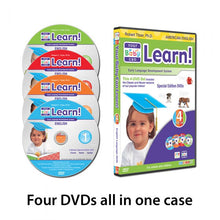 Load image into Gallery viewer, Your Baby Can Learn - NEW NAME - Better Product (Special Edition 4 Level Kit) Great Starter Kit -