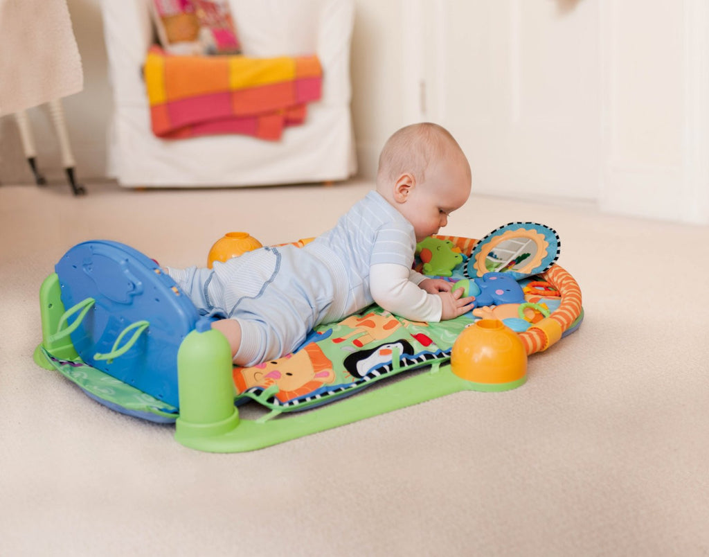 Fisher Price Discover N Grow Kick And Play Piano Gym