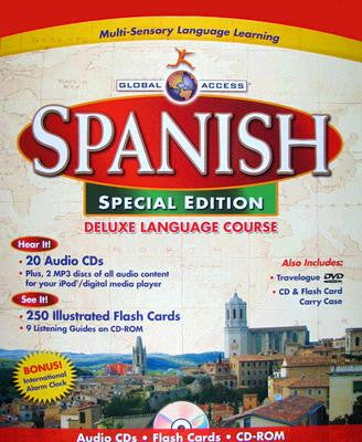 Global Access Spanish CD Deluxe Family Learning Depot - Spanish global language