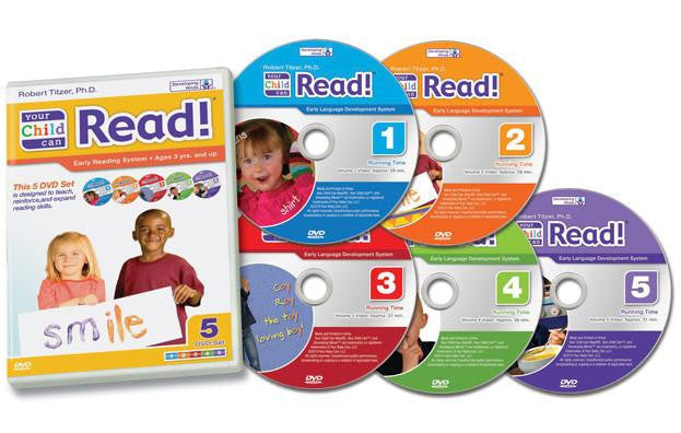 Your Child Can Read!  5 DVD set (Step 2)