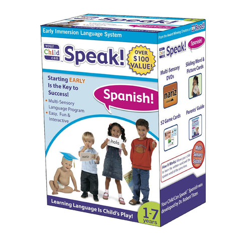 Your Child Can Speak Spanish - Language Learning Program - NEW!