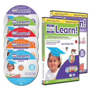 Your Baby Can Learn! - Deluxe KIT Special Edition + Bonus- Your Child Can  Read 5 DVDs