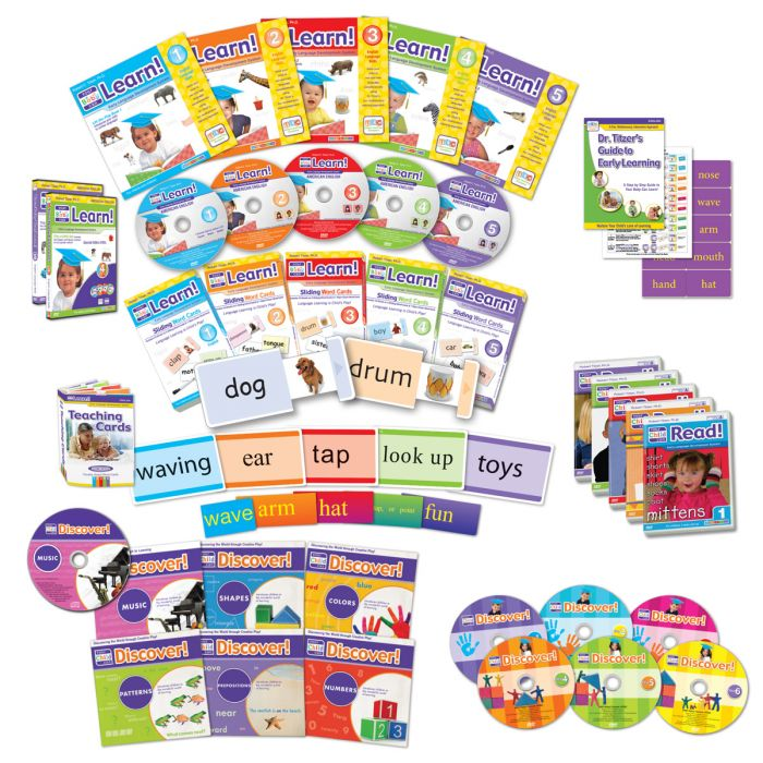 Early Learning Package (Learn, Read, and Discover!)