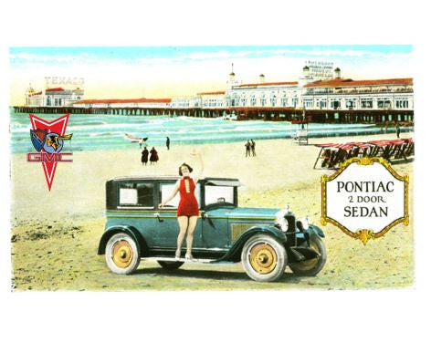 1928 to 1958 POCI Pontiac Mugs, Magnets & Posters