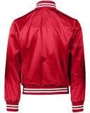 POCI NUTMEG SATIN JACKET (FULL EMBROIDERY ON BACK)