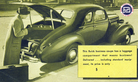 1937 to 1942 Buick Club Mugs, Magnets & Posters