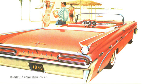 1959 to 1966 POCI Pontiac Mugs, Magnets & Posters