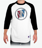 Buick 1960 Champion Tagless Raglan Baseball T-Shirt
