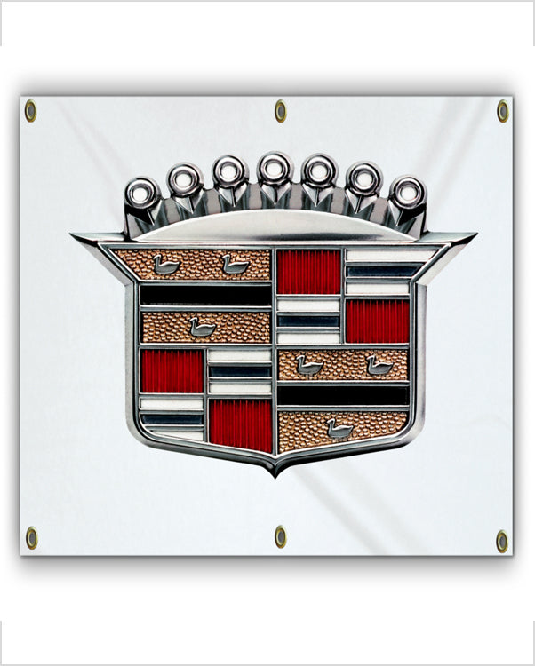 1960's Cadillac Crest Banner