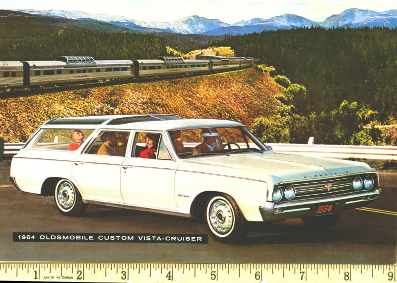 1964 to 1990 Oldsmobile Club Mugs, Magnets & Posters