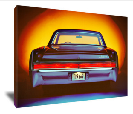 "1966 Buick Electra 24 x 16"" Canvas"
