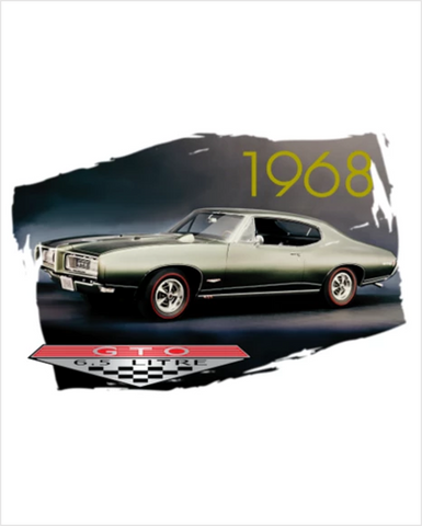 1968 Pontiacs 50th anniversary T-shirts