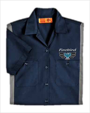 Pontiac 70's Firebird Dickies Regular Fit Short Sleeve Two-Tone Work Shirt