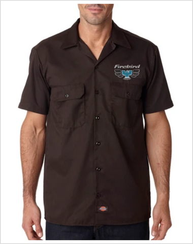 Pontiac 70's Firebird DICKIES Mechanic shirts