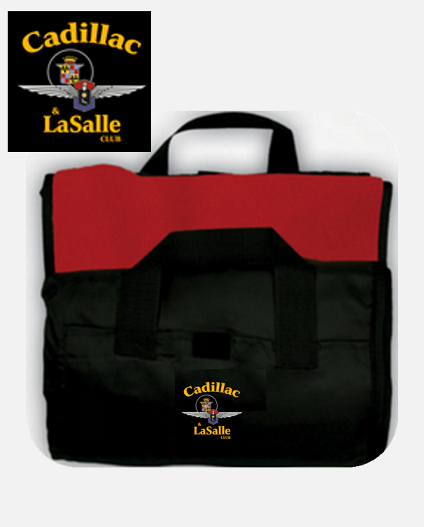 Cadillac LaSalle Club Picnic Blanket Fleece with Nylon backing