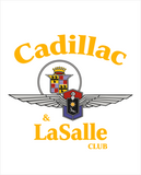 CLC Cadillac & LaSalle CLub Soft Shell Lightweight jacket (Alternate new CLC design)