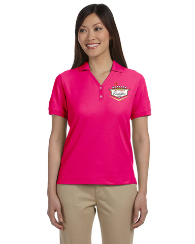 Cadillac Club Las Vegas Ladies Cotton Blend polo