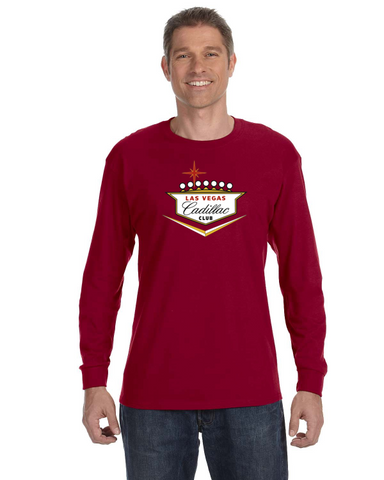 Cadillac Club Las Vegas Region LONG Sleeve T-Shirt