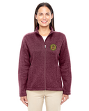 Ladies Cadillac & LaSalle Museum Full-Zip Sweater Fleece Jacket