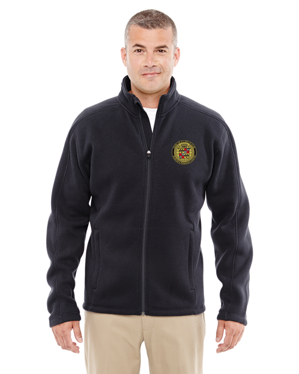 Cadillac & LaSalle Museum Full-Zip Sweater Fleece Jacket
