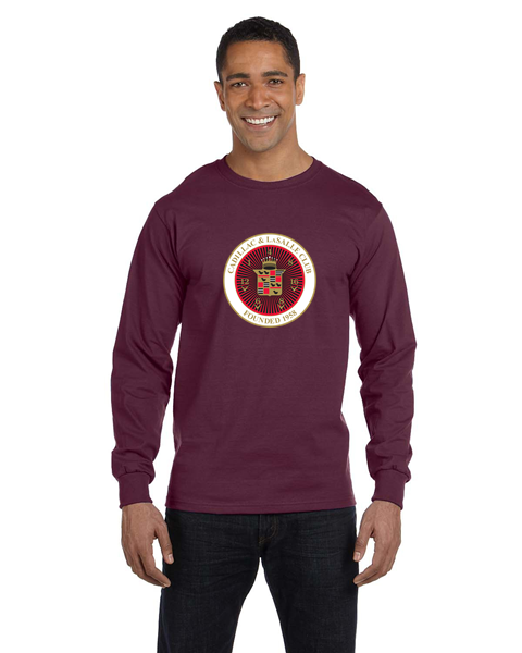 CLC Cadillac LaSalle Club Long sleeve T-shirt