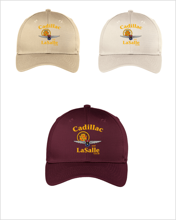 Cadillac LaSalle Club Hat (alternate logo)