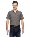 CHEVROLET 1966 SCRIPT AND BOWTIE DICKIES Mechanics shirt