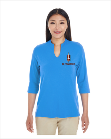 Oldsmobile Open Neckline Ladies Top