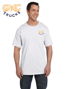 GMC 1930's Pocket T-shirt (embroidered logo on front)