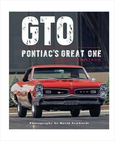GTO Pontiac's Great One book