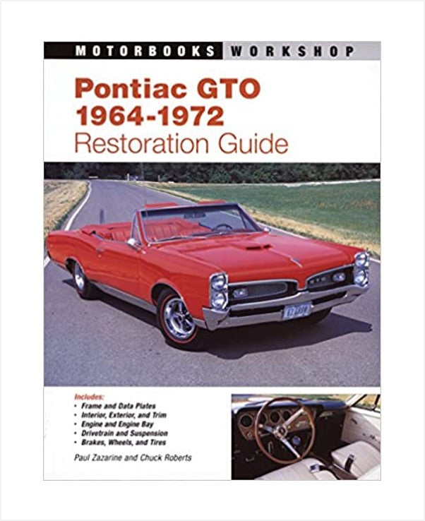 Pontiac GTO Restoration Guide Book