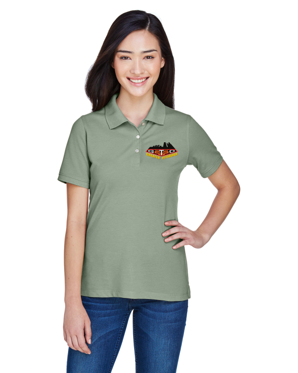 GREATER PITTSBURGH GTO CLUB Embroidered Ladies Cotton Blend polo