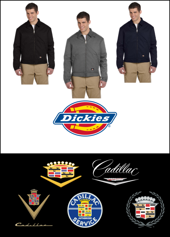 Cadillac Series Dickies Eisenhower Lined Mechanics Jacket