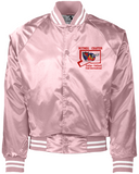 POCI NUTMEG SATIN JACKET (LEFT CHEST EMBROIDERY only)