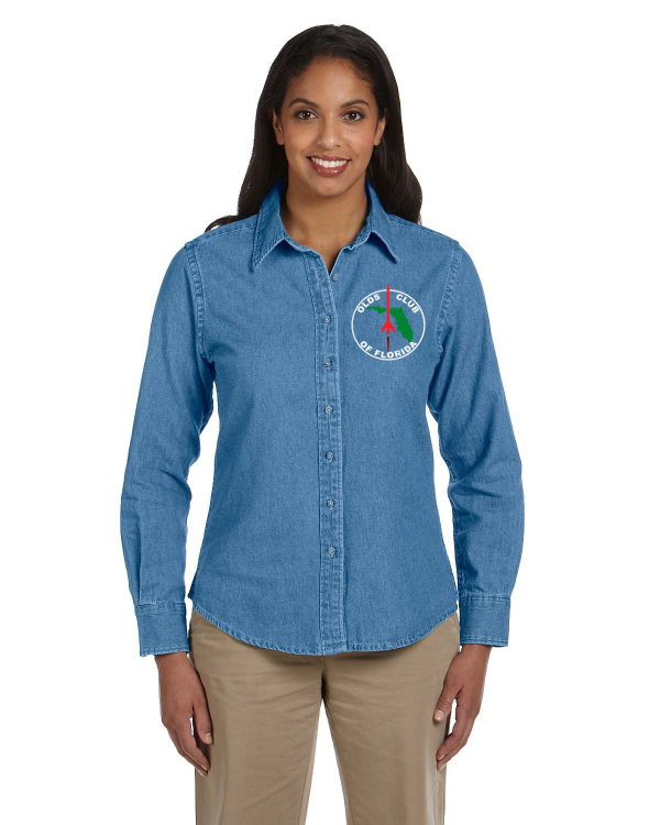 Florida OCA Ladies Denim shirt