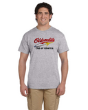 OCA Oldsmobile NEW design Script & Rocket T-shirt
