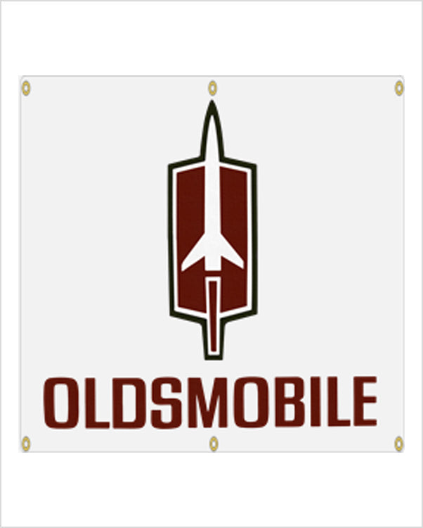 1960's Oldsmobile Rocket Banner