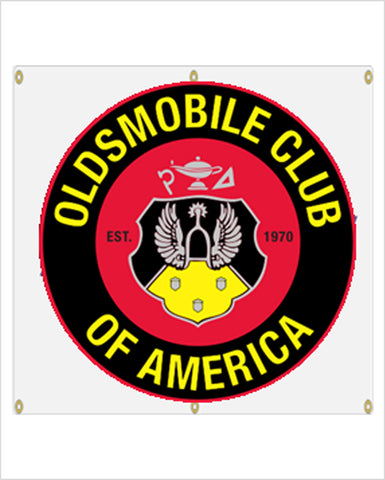 OCA Oldsmobile Club of America Garage Banner