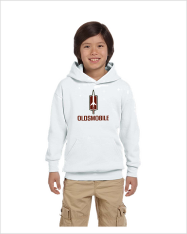 Oldsmobile Rocket kids youth hoodie