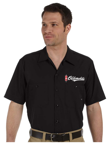 Oldsmobile Script DICKIES Mechanics shirts