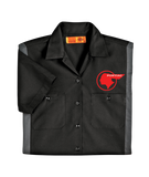 Pontiac Indian Dickies Regular Fit Short Sleeve Two-Tone Work Shirt
