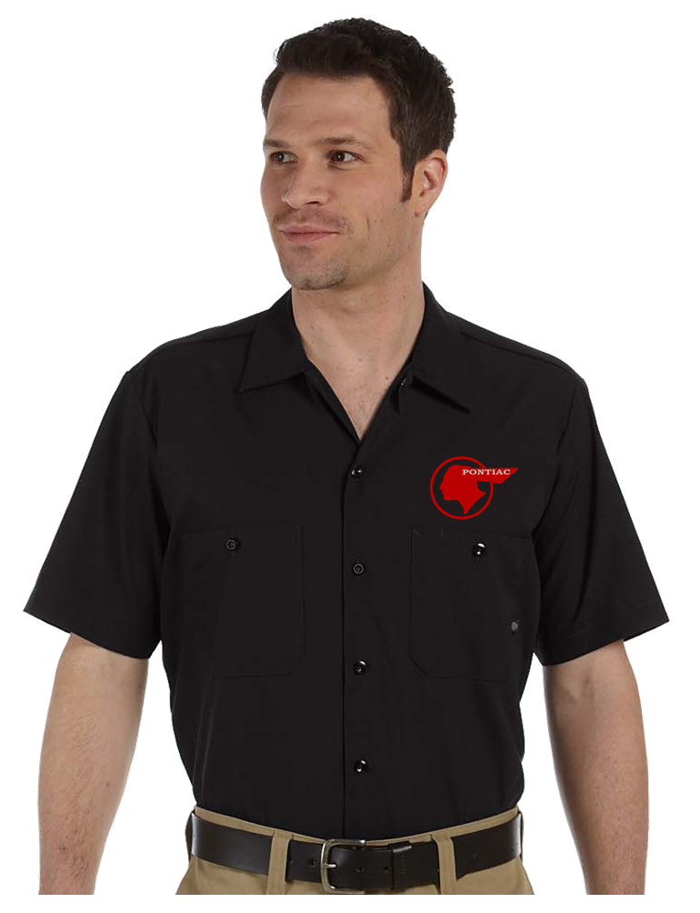 mechanic shirt,work shirt,industrial shirt,pontiac