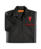 Pontiac Dickies Regular Fit Short Sleeve Two-Tone Work Shirt