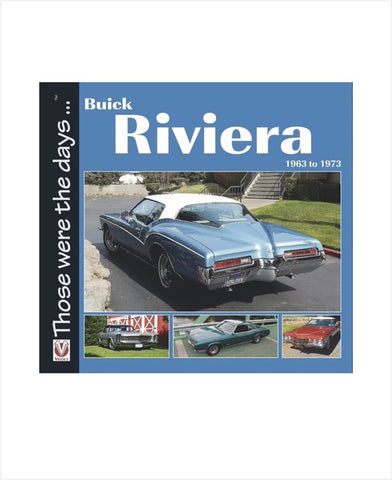Buick Riviera 1963 to 1973 Paperback book