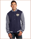 Cadillac Club Las Vegas Fleece Lettermans Jacket