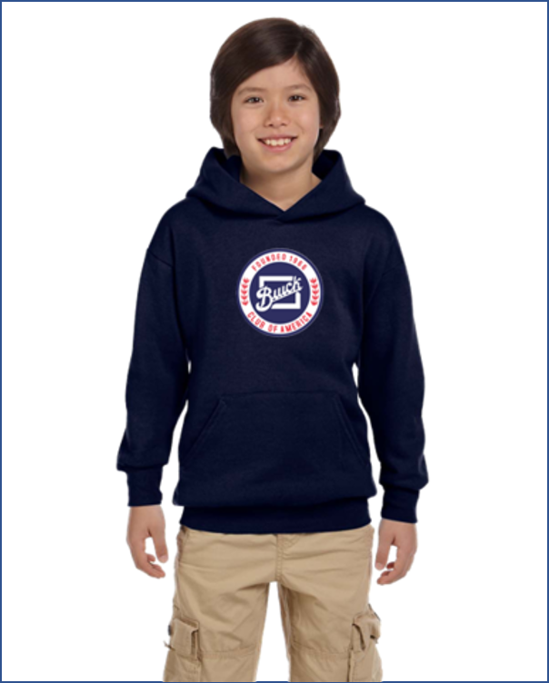 BCA Buick Club of America kids youth hoodie