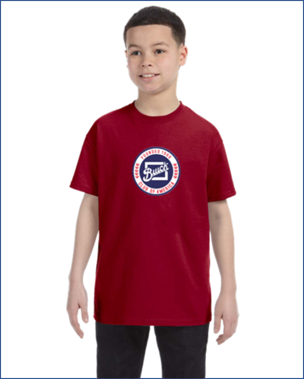 BCA Buick Club of America kids youth t-shirt
