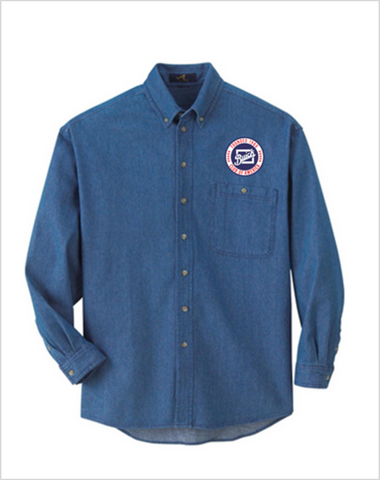 BCA Buick Club of America Denim shirt Mens and Ladies